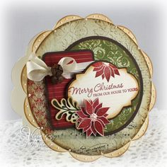 Merry Christmas by Vervegirl - Cards and Paper Crafts at Splitcoaststampers