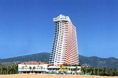 Hotel Crowne Plaza, Acapulco, Guerrero - Sobre la Playa el Morro, en el corazón de la zona dorada.