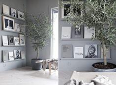 Så inreder du med grått – 10 snygga tips Så inreder du med grått – 10 s. Cosy Corner, Lunch Room, Beautiful Interior Design, Nordic Design, Elle Decor, Home Living Room, Wall Lights, Gallery Wall, New Homes