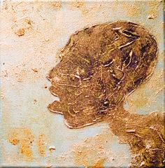 Acylic paint og canvas by Elisabeth Takvam