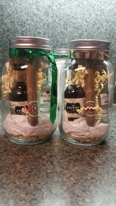 Dude, will you be my groomsman?   Mason jars with rum & cigars to sweeten the deal.