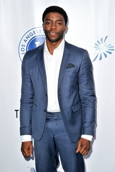 Pin for Later: 34 Pictures That Will Make You Realize You Have a Big Crush on Chadwick Boseman