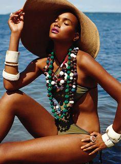 Arlenis Sosa by Carter Smith for Elle US November 2010