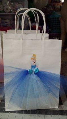 Cinderella beauty party bags princess party by TheMuseCreations