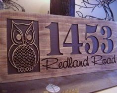 Carved Wooden Welcome Sign Nature inspired by BenchmarkSignsGifts