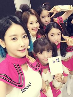 CRAYON POP - FM - Geummi, Ellin, Soyul, ChoA, Way