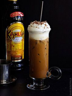 11 Iced Coffees to Kick Your Caffeine Buzz Up a Notch   SPIKED VIETNAMESE ICED COFFEE   This drink mixes classic New Orleans chicory coffee with coffee liqueur for a double dose of rich flavor that'll give you more than a caffeine buzz. Get the recipe HERE.