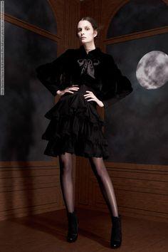Suzie Bird for Viktor & Rolf lookbook (Pre-fall 2012) photo shoot #Suzie_Bird #fashion #model #beauty #clothes #fashionable #weheartit #style #shoes