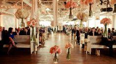 A destination wedding photo taken at Bridgestreet Gallery & Loft