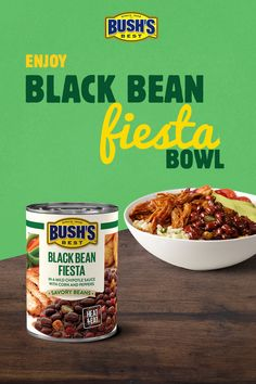 Add some flavor to your meals with BUSH'S Savory Beans. Bean Recipes, Low Carb Recipes, Diet Recipes, Cooking Recipes, Healthy Food Options, Healthy Meal Prep, Mexican Dishes, Mexican Food Recipes, Love Food