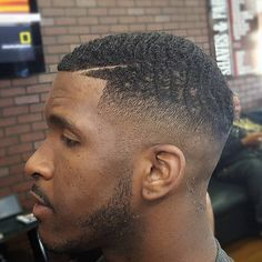 Waves With Fade Men's Haircut Ideas Mens Short Haircuts, Haircuts for Men, Hairstyles for Men