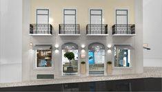IQOS Flagship Store - Phillip MorrisCriatividade e concepção de loja IQOS no Chiado em Lisboa Camera Store, Graphic Design Services, Retail Design, Behance, Mansions, House Styles, Lisbon, Manor Houses, Villas