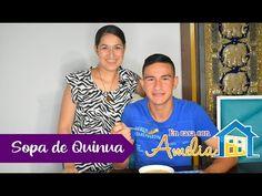 ECA-15   Sopa de Quinua   En casa con Amelia - YouTube Amelie, Health, Youtube, Women, Home, Chicken Kitchen, Black Dad, Yellow Potatoes, Health Care