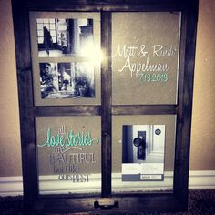 Looking for a wedding or shower gift? This frame would be the perfect gift that they will cherish forever. To order, email us chicdesignsforyou@gmail.com