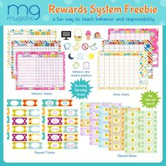 Lilian Ellaboudy Design: Freebies | Reward System