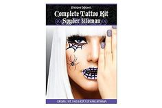 coolTop Women Tattoo - Fright Night Complete Tattoo Kit Spyder Woman. Fright Night. Complete Tattoo Kit... Check more at https://tattooviral.com/women-tattoos/women-tattoo-fright-night-complete-tattoo-kit-spyder-woman-fright-night-complete-tattoo-kit/