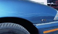 Cómo evitar los rasguños en tu vehículo
