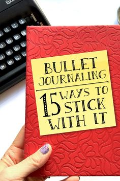 Journal Stick With It Love bullet journaling but struggle to stick with it? Use these tips to work your bullet journal more consistently.Love bullet journaling but struggle to stick with it? Use these tips to work your bullet journal more consistently.