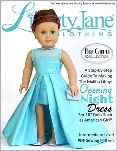Pixie Faire Liberty Jane Opening Night Doll par PixieFairePatterns