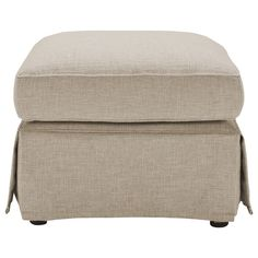 Greenwich Ottoman (Skirted) | Freedom Furniture and Homewares