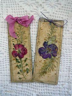 Nature bookmarks #naturecrafts