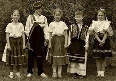 detske kroje, Slovensko