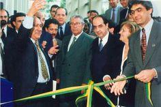 INAUGURAÇÃO DO POUPATEMPO SÉ - 20 de outubro de 1997 // Nesta data, com a presença do então governador do Estado de São Paulo, Mário Covas, era inaugurada a primeira unidade do Poupatempo, um programa que se tornou referência em termos de atendimento de qualidade para serviços públicos.