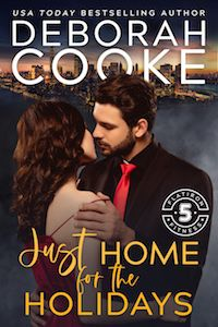 Just Home for the Holidays, a #Christmas romance novella and number seven in the #FlatironFiveFitness series of #contemporaryromances by #DeborahCooke