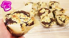 Schokoladen Muffins mit Streuseln backen | mit DIY Muffintulpen | Schoko...