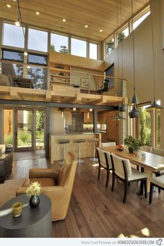 A Look at the Sunset Point Residence in Washington, USA