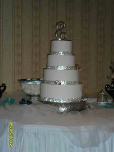 Bling out cake.my daughter's for her sweet sixteen ..