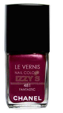 Chanel Le Vernis Nail Color Colour Polish Fantastic No. 481 Limited Edition