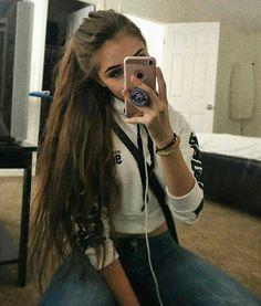 Mädchen 14 Selfie