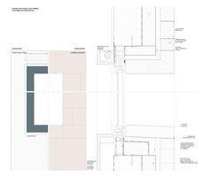 Max Dudler Architekt.  Hambach Castle, Restaurant 1832. Dettagli infissi