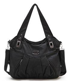 Scarleton Zipper Washed Shoulder Bag H1472 – Shop2online best woman's fashion products designed to provide
