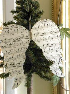 Alas para decoración navideña.