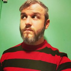 Krueger Couture. It's finally (kinda) cool enough to wear this. #nightmareonelmstreet #freddy #horror #horrormovies #31daysofhalloween #beard by captainmurphy