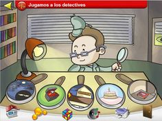MAESTROS DE AL MURCIA: DISCRIMINACIÓN AUDITIVA: JUGAMOS A LOS DETECTIVES Detective, Teacher Tools, Fictional Characters, Surf, Language, Game, Audio, Speech Pathology, Autism