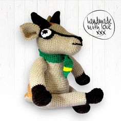 Bokkie, the Springbok, decided to join our Springbok family. He loves to watch Rugby and is the biggest Bok supporter. Handmade with love. It is crocheted of high quality wool and is completely washable. Watch Rugby, Man Bars, Crochet For Boys, Nursery Decor, Children, Kids, Great Gifts, Crochet Patterns, Join