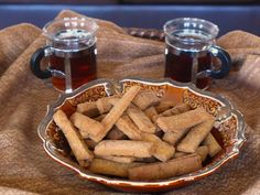 Chad Millet Snacks Ouaddai with teas