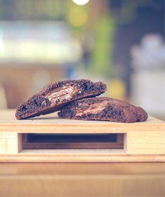 Fat cookie coeur Nutella-Daim