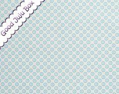"""""""Minimals"""" Kreise  Hellblau auf Weiß von Good Juju Box auf DaWanda.com"""