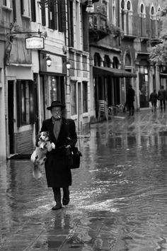 "Venice, Italy. Sestiere Dorsoduro, Landscape Photography, Fine Art Photography, Black & White Photography, 8""X12"""