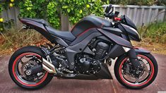 kawasaki z1000 black - Google Search