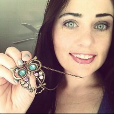 I love it!.     Vintage Owl Charm Necklace $1.93 SHIPPED