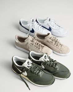J.Crew In Good Company: Nike®. Classic kicks in brand-new colors from the…