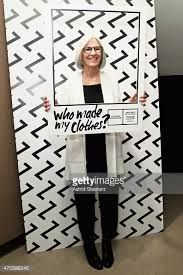 Fashion designer Eileen Fisher attends An Evening of Slow Living in honor of Fashion Revolution Day hosted by Zady and FIT on April 2015 in New York City. Slow Living, Still Image, Eileen Fisher, Revolution, Vw, Fashion Design, Events