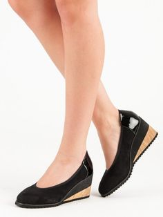 Ľahké lodičky na kline Heeled Mules, Heels, Fashion, Heel, Moda, Fashion Styles, High Heel, Fashion Illustrations, Stiletto Heels
