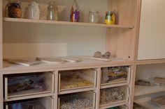 Mobile contenitore per laboratorio pittura