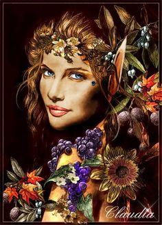 """"""" Outono"""" 2011  Artista em Destaque, pela revista """"Photoshop Creative"""" , como artista do mês."""
